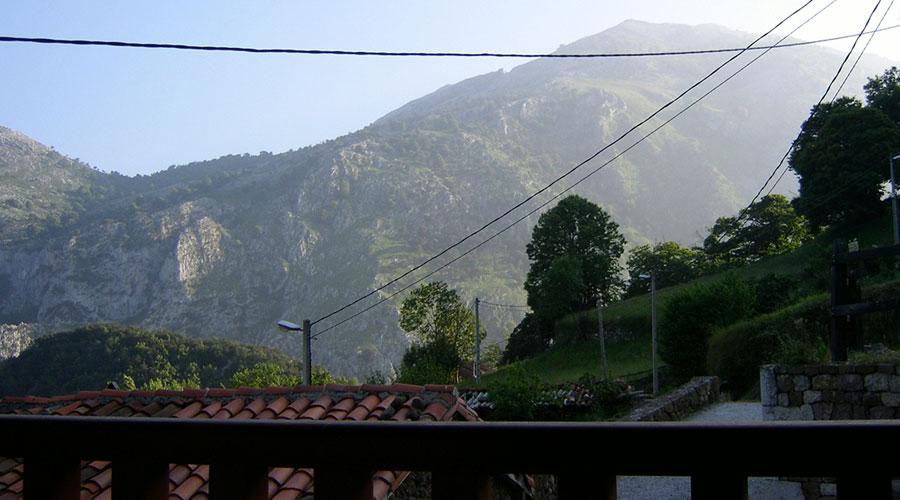 Vistas desde el interior de la Casa Rural Pocotrigo