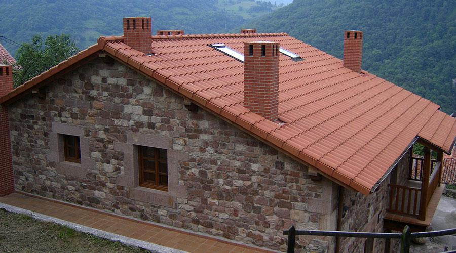 Exterior de la Casa Rural Pocotrigo